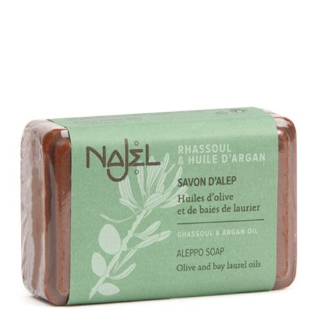 Aleppo Soap with ghassol clay