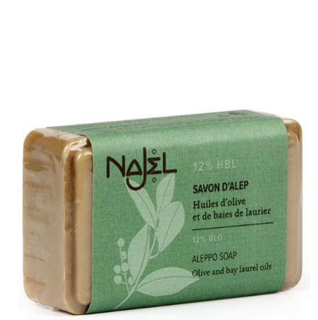 Aleppo soap 12% with lauryl oil