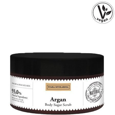 Argan body sugar scrub