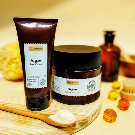 Argan foot cream