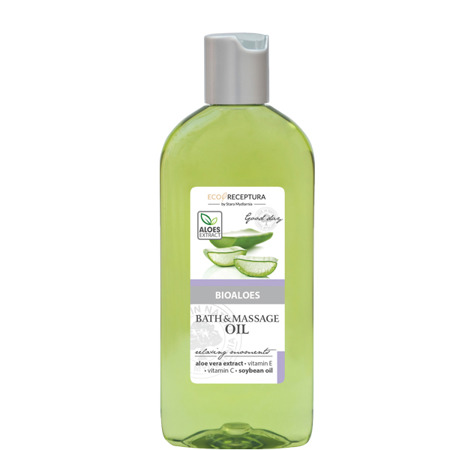 Bioaloes bath & massage oil