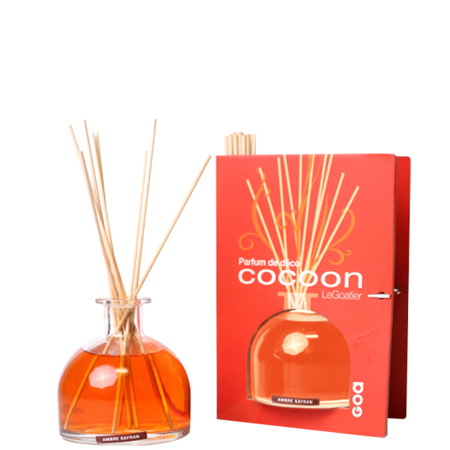 Fragrance diffuser COCOON - Ambergris with saffron