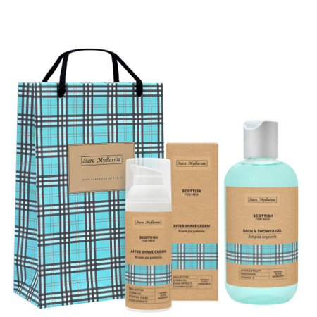 Gift set 48 Scottish for Men
