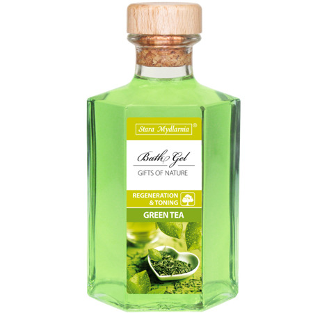 Green Tea bath gel