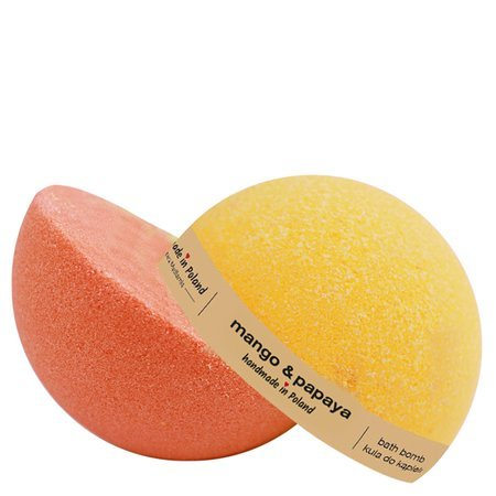 Mango & Papaya duo bath bomb