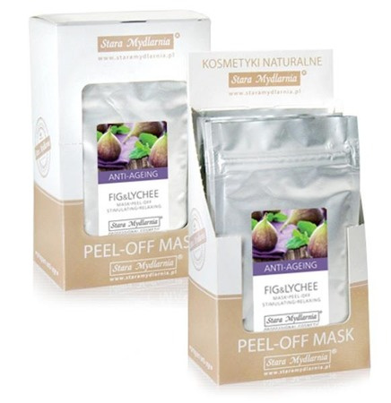 OUT Algae mask Fig & Lychee - 6 pcs.