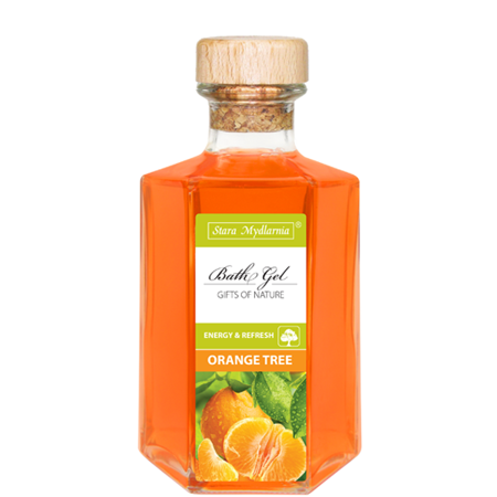 Orange Tree bath gel