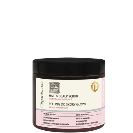 Organic Hair hair & scalp peeling strengthening