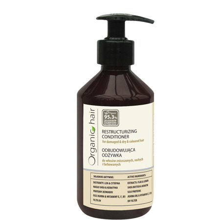 Organic Hair restructurizing conditioner