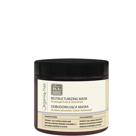 Organic Hair restructurizing mask