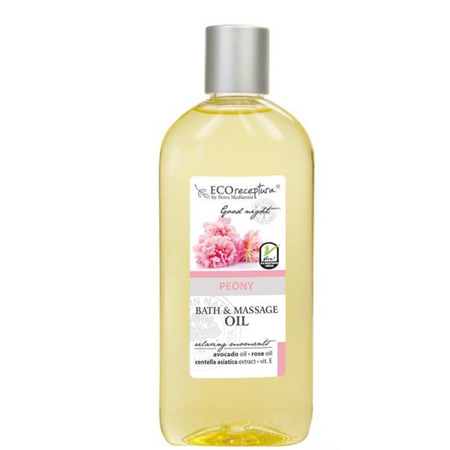 Peony bath & massage oil