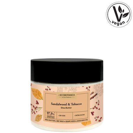 Sandalwood & Tobacco anti-cellulite shea butter