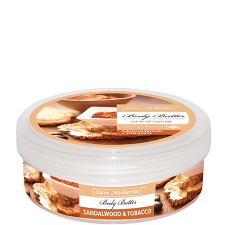 Sandalwood & Tobacco body butter