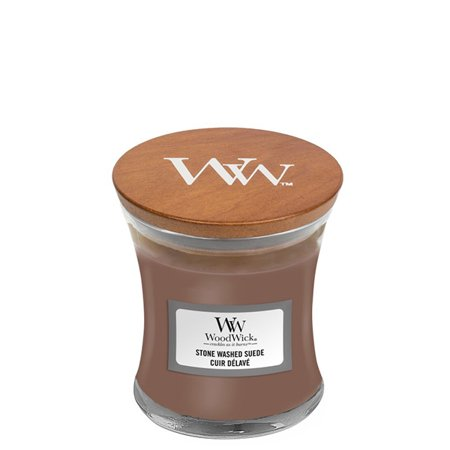 Stone Washed Suede Candle
