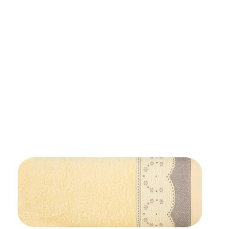 Towel Tina 50x90 - light yellow (03)
