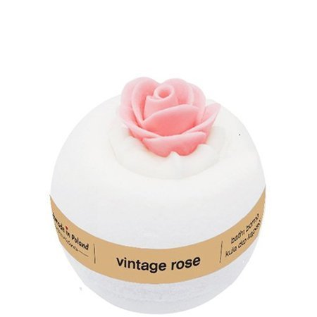 Vintage Rose bath ball