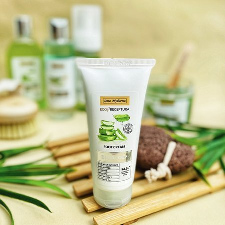 Bioaloes puder do kąpieli
